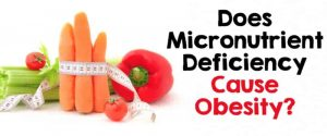 micronutrient deficiency & obesity