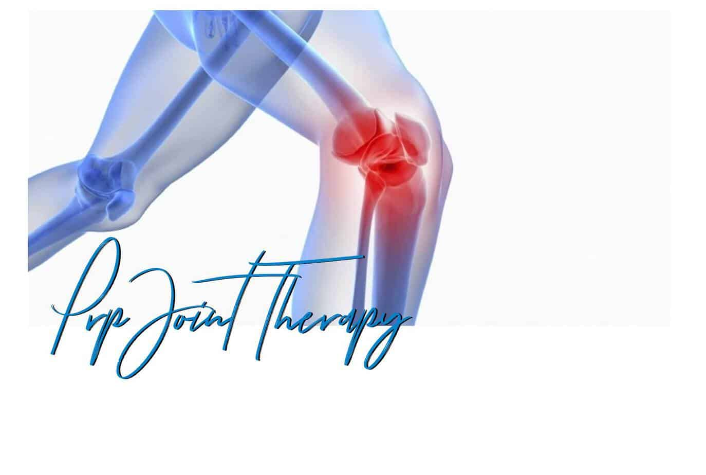 prp joint therapy injections knee pain